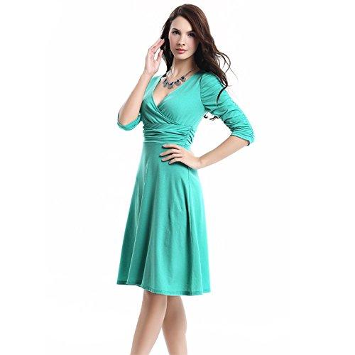 KingField - Robe - Crayon - Femme Vert brillant