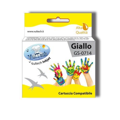 Cartuccia Compatibile Vultech GS-0714 Giallo (T0714)