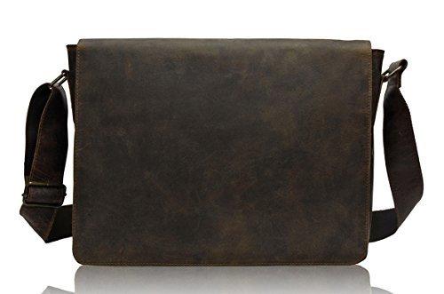 TONYS BAGS Umhängetasche aus echtem Büffel-Leder im Vintage Look