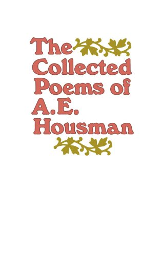 a e housman for sale  Delivered anywhere in UK