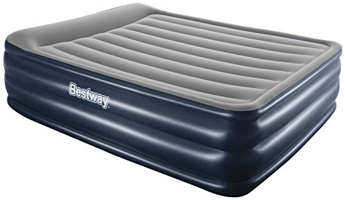 Bestway Luftbett Nightright Raised Queen-Size mit eingebauter Pumpe, 203 x 152 x 56 cm, 67528B-03