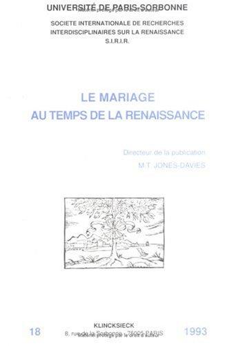 Le mariage au temps de la Renaissance