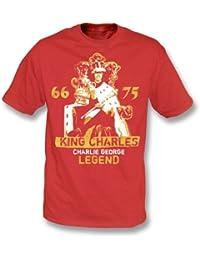 PunkFootball Rey Charles – Camiseta de Charlie George ...