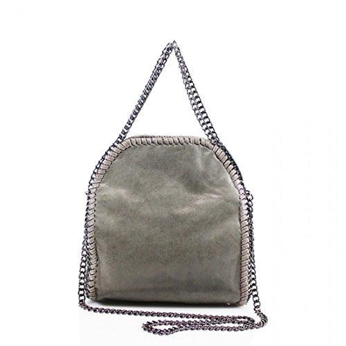 YourDezire , Damen Tote-Tasche grau dunkelgrau (Vuitton Mini Tasche Louis)