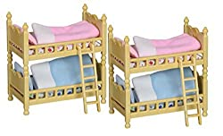 Maven Gifts: Calico Critters Of Cloverleaf Corners Pack Of 2 Bunk Beds Furniture Sets Build Skills With Imaginative Play