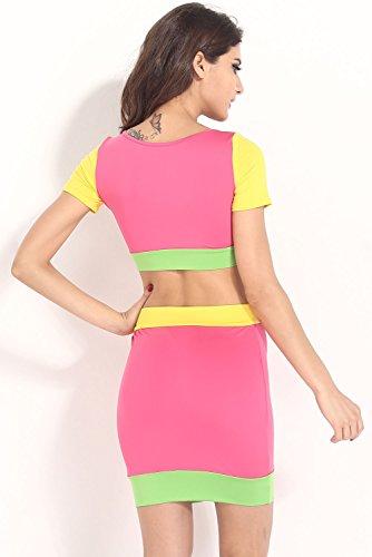 E-Girl femme Multicolore SY21063 robe de cocktail Multicolore