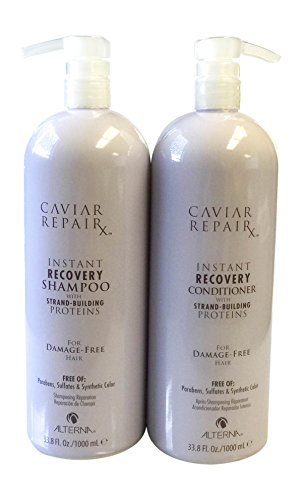 Alterna Caviar Instant Recovery Shampoo and Conditioner 33.8 Fl. Oz. DUO by Alterna