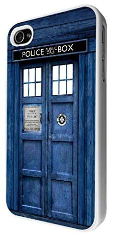 Coque iphone 4/4S motif tardis doctor who style design coque