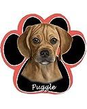 Puggle Non Slip Paw Shaped Mouse Pad