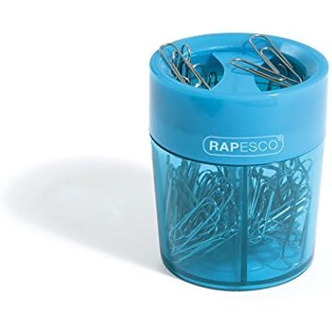 Rapesco PCH000A1 - Portaclips magnético para papeles con 100 clips varios colores
