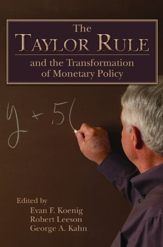 The Taylor Rule and the Transformation of Monetary Policy (Hoover Institute Press Publication) (2012-06-01) par unknown
