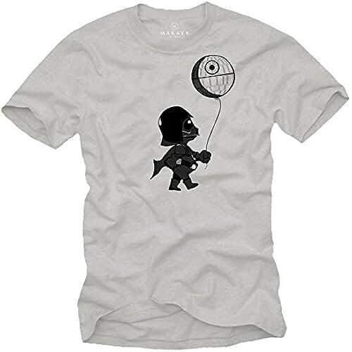 dia del orgullo friki Baby Vader Camiseta Divertida Hombre Manga Corta