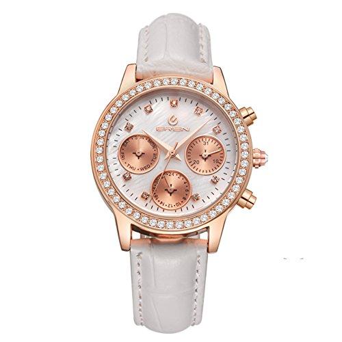 lässige wasserdichte Armbanduhr/Quarz-Uhr/Business casual Uhren-B
