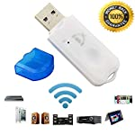 ambray USB Wireless Bluetooth Audio Music Receiver Adapter Amplifier for Apple, Android, Laptop, Music System, Home...