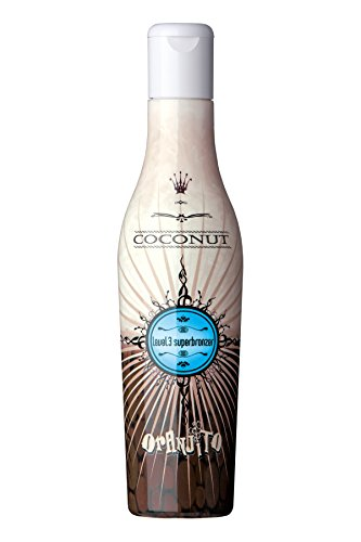 Oranjito Coconut Level 3 Superbronzer Solariumkosmetik, 1er Pack (1 x 200 ml)