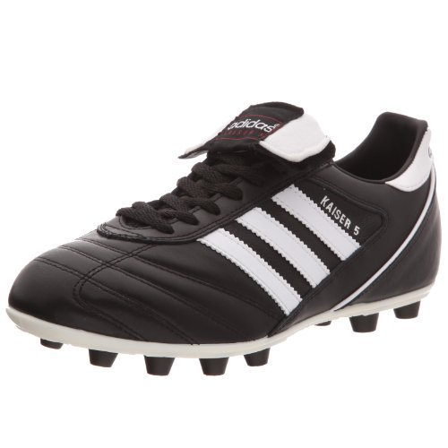 adidas Kaiser 5 Liga, Herren Fußballschuhe, Schwarz (Black/Running White Ftw/Red), 43 1/3 EU (9 Herren UK) (Herren Schuhe Fußball Adidas Rasen)