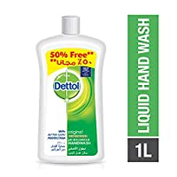 Dettol Original Anti-Bacterial Liquid Hand Wash 1000ml