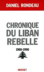 Chronique du Liban rebelle, 1988-1990