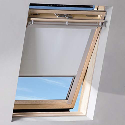 Sol Royal SolReflect D12 Persiana techos estor tejados buardilla térmica oscurecente 117x74 cm U04 804 7 Blanco