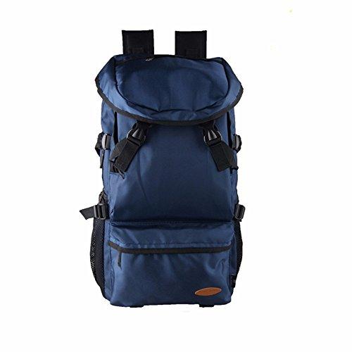 TBB-Alpinismo sacco esterno di grande capacità viaggia zaino borse,grande blu blue Trumpet