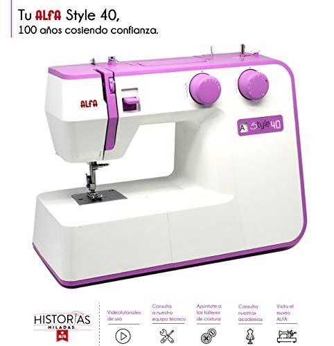 Alfa STYLE UP 40 - Máquina de coser