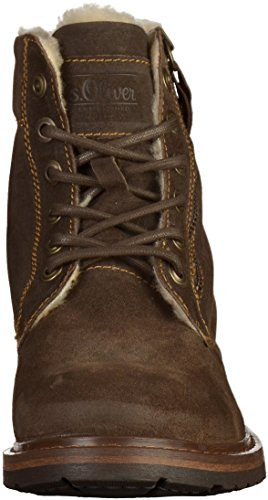 s.Oliver 16216, Bottes Rangers Homme Taupe