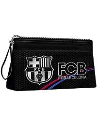 Karactermania FC Barcelona Silver Bolsa de Aseo, 23 cm, Plateado