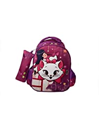 GLOSSY BIRD SCHOOL BAG FOR PLAY SCHOOL WITH 3D MASK