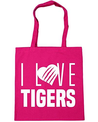 hippowarehouse-i-love-tigers-tote-shopping-gym-beach-bag-42cm-x38cm-10-litres