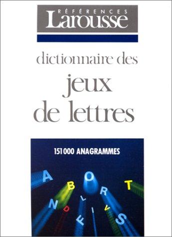 Dictionnaire des jeux de lettres