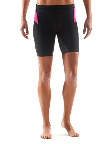 Skins Damen Tri 400 Womens Shorts Black/pink, S