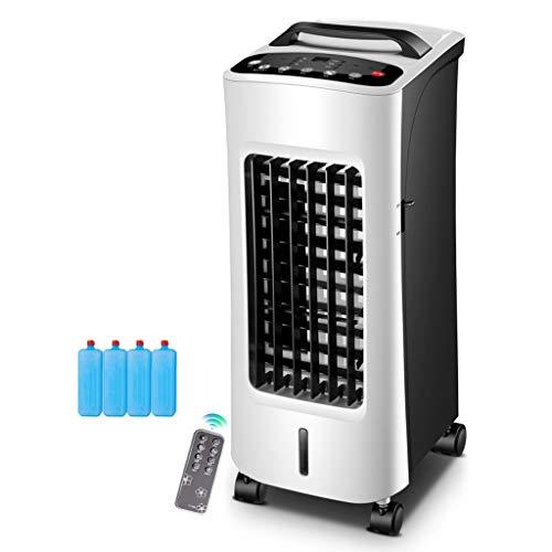 YWARX 4-in-1 Mobiles Klimagerät (Kühlen + Entfeuchten+Luftreinigungsfunktion+Heizfunktion),400 M3 / H - 60°Weitwinkel-Silent/weiß,Remote