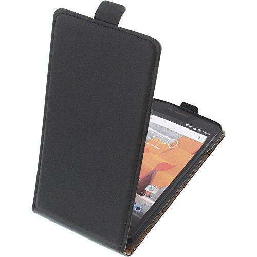 foto-kontor Tasche für Wileyfox Spark X Smartphone Flipstyle Schutz Hülle schwarz