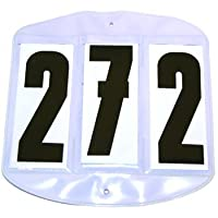 Roma F.C. ROMA BRIDLE COMPETITION NUMBER SET 3 NUMBERS