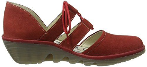 Fly London Poma,femme Rouge - Red (Cordoba Red/Cherry)