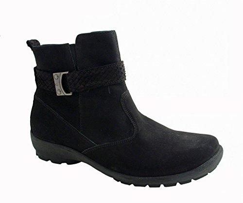 Waldläufer Ladies Boot Holma 589816-283-001 noir schwarz Weite H