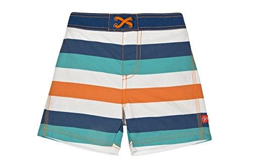 Lässig Splash & Fun Baby Board Shorts / Baby Badeshorts / UV-Schutz 50+ boys, S / 6 Monate, Mehrfarbig (multistripe)