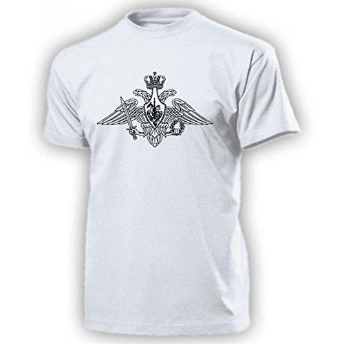 Streitkräfte Russlands Adler Russische Föderation Heer Luftstreitkräfte Marine ??????????? ????? Armee Army Putin Russland Militär Russe Truppe - T Shirt Herren XL #17919