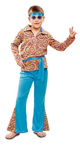My Other Me - Disfraz de hippie psicodélico para niño, 7-9 años (Viving Costumes 201980)