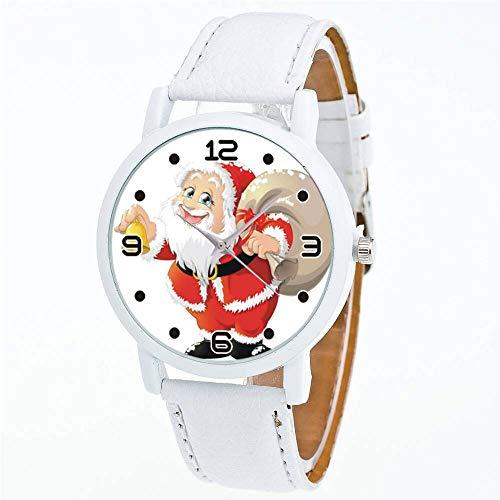 Uhren Frauen Quarz Armbanduhr Uhr Damen Kleid Geschenk Uhren armband Weiß - Uhrenarmbänder Weiß