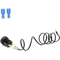 LanLan Grosses Soldes Mini OLED DC 12 V/24 V Numérique Thermomete OLED Écran PC Shell -40~125 ℃ Température Jauge Compteur Accessoires Thermomètre pour Voiture Moto