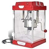 vidaXL Machine à Pop Corn Professionnelle 2,5 oz Appareil à Pop Corn Recettes