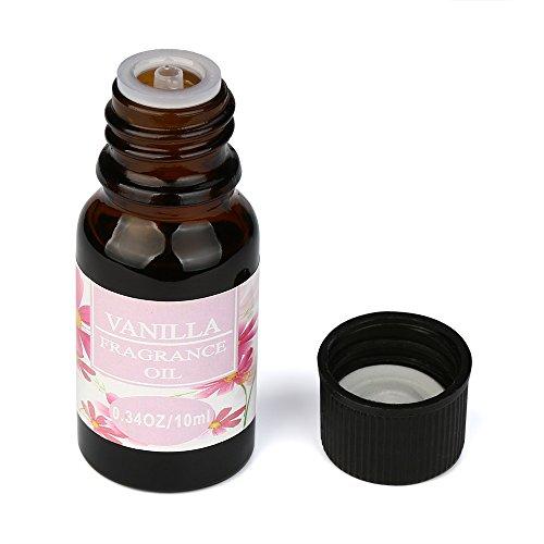 BeautyTop 10ml 100% reine & natürliche ätherische Öle Aromatherapie Duft Hautpflege(Vanille) (Massage-öl Vanille Duft)