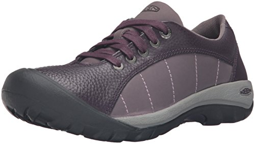 Keen Damen Sneaker Braun Cascade Brown/Shitake, Violett - Pflaume - Größe: 36 EU (Presidio Womens Sneakers)