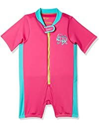 Speedo 811345B432-3 Blend Tots Float Suit, Baby (Pink/Blue)