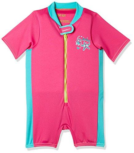 Bali Neoprenanzug (Speedo Sea Squad Float Suit Neoprenanzug, Unisex Kinder S rosa/blau (Vegas pink/Bali Blue))