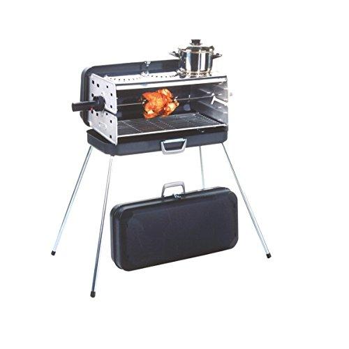 Preisvergleich Produktbild Dometic Classic 1,  Koffergrill / Gasgrill mit 3 Kochplatten,  30 millibar
