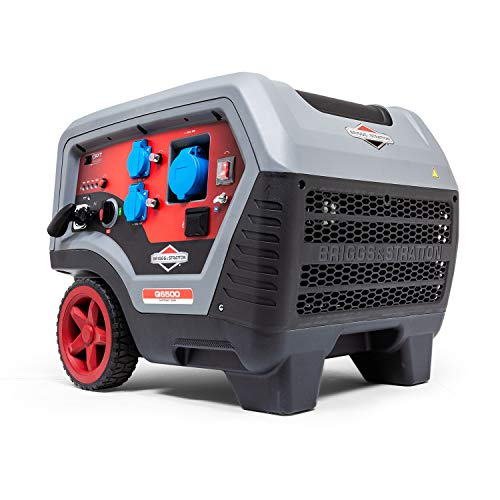 Serie Generatoren (Briggs & Stratton Benzin tragbarer Inverter Generator QuietPower Series Q6500 mit 6500 Watt/5000 Watt Clean, sehr leise und leicht)