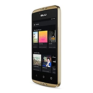 BLU Energy Diamond Mini UK SIM-Free Smartphone with 3000 mAh Battery - Gold