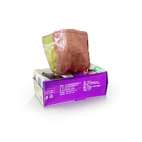 eimer-Beutel Liner/Müllsack, Automatisches Schließen, Handkordelzug, Plastikbeutel Für Haushaltsküchen/Umweltfreundlicher Abbaubarer Müllsack, HDPE + ECM-Material,(40 * 45Cm) 40Bags ()